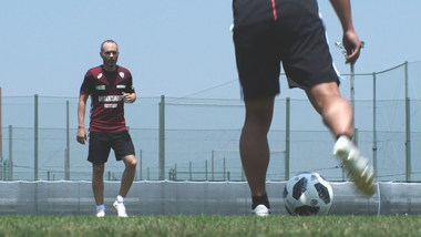 Iniesta TV Episode 12: Road to Kobe #10 First Individual Practice